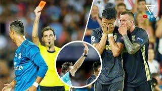 2 Kali Ronaldo Mendapatkan Kartu Merah Kontroversi Dari Wasit