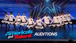The Squad: 11-Member Dance Crew Shows off Awesome Moves - America's Got Talent 2015