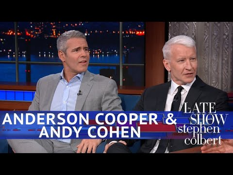 Xxx Mp4 Anderson Cooper Isn't Ready To Endorse Andy Cohen For Mayor Of NYC 3gp Sex