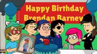HAPPY 18TH BIRTHDAY BRENDAN BARNEY!!!