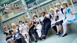 Maid Corps Panel   Anime California 2015