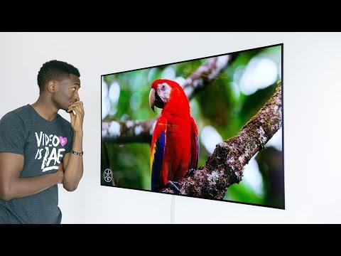 Dope Tech The 4K OLED Wallpaper TV