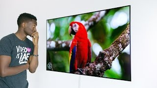Dope Tech: The 4K OLED Wallpaper TV!