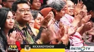 Kick Andy 22 April 2016 : Menangis & Tertawa Bersama Megawati