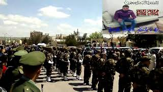 جنازة شهيد الوطن بلال جلال  وسط حضور شعبي كبير جداااا ابن البرواقية 20/04/2018