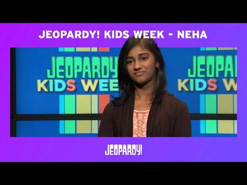 Jeopardy! Kids Week - Neha