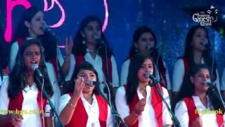 Sunita Murali singing 'Yaarivanu Ee Manmathanu'  @ 54th Bengaluru Ganesh Utsava