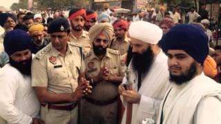 Sant Baba Baljit Singh Ji Khalsa Dadu Sahib Wale asks forgiveness from Sangat Ji