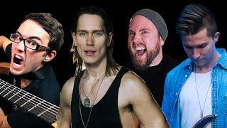 5 Metal YouTubers Collabing (Music Video)