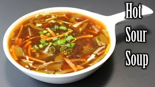Easy Hot and Sour Soup Recipe | Quick Hot and Sour Soup | How to Make Hot and Sour Soup