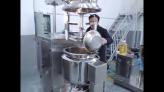 50L vacuum emulsifying mixer making for the mayonnaise