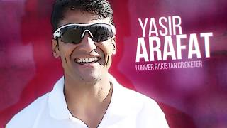 Fireside chat with Yasir Arafat, former Pakistan cricketer