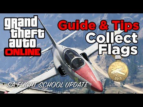 Xxx Mp4 Collect Flags Gold Guide Tips GTA Online Flight School Update Gameplay 3gp Sex