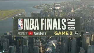 2019 NBA Finals: Game 2 Intro | GSW vs TOR | NBA on ABC