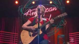 Crystal Bowersox - Natural Woman - American Idol 2010 Hollywood Round 2