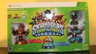 Skylanders Swap Force - STARTER PACK UNBOXING!