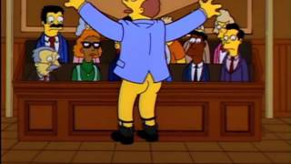 The Simpsons - Lionel Hutz Law Talking Guy