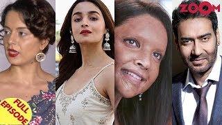 Kangana launches a fresh attack on Alia | Deepika Vs. Ajay Vs. Rajinikanth at the box office & more