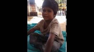 Rajasthani song suwatiyo sung by a poor boy....so sweet and heart touching voice