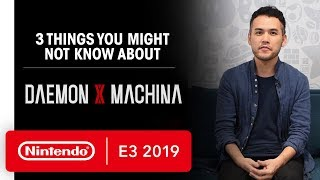 Three Things You Might Not Know About DAEMON X MACHINA - Nintendo E3 2019