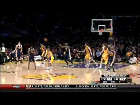 #03 vs Utah Jazz - Pau Gasol Video Project 2012