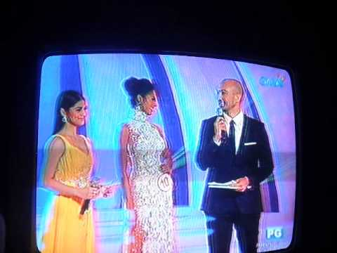 Miss World Philippines 2013 Final 5 Q & A