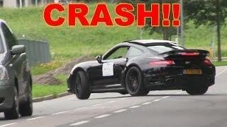 Porsche 991 Turbo S CRASH!!!