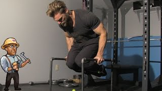 Homemade Parallettes - Best for Dips, Rows, Abs - DIY Dudes