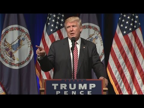 Donald Trump Kicks Crying Baby Out of Rally