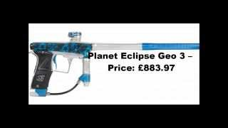 Top 10 Most expensive paintball guns of ALL Time