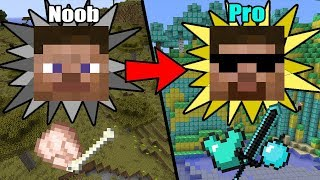 Ultimate&Easy Ways to Transform from NOOB to PRO in Minecraft