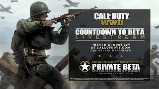 Call of Duty: WWII 'Countdown to Beta' Livestream