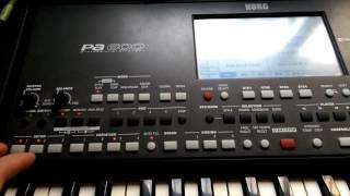 Korg pa600 live styles