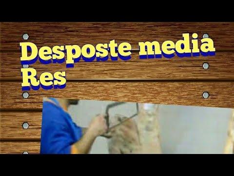 DESPOSTE DE UNA MEDIA RES VACUNA EN DEAN FUNES