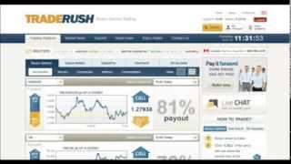TradeRush 60 sec strategy 251 83 to 6757 50 in 1 week