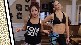"""Ass & Abs Workout with Nicole """"Snooki"""" and KymNonStop"""