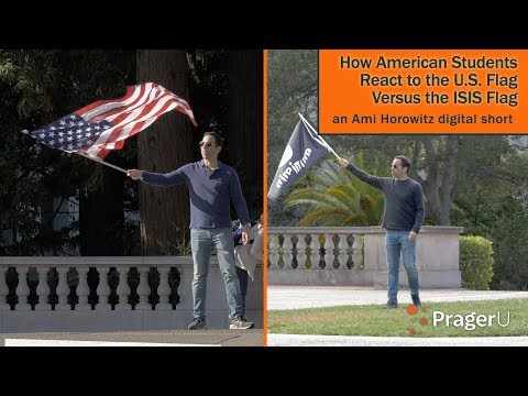 Xxx Mp4 How American Students React To The U S Flag Versus The ISIS Flag 3gp Sex