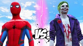 The Joker vs Spider-Man - Epic Superheroes War