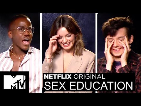 Xxx Mp4 Netflix's Sex Education Cast Play 2 Truths A Lie Talk Sex Scenes MTV Movies 3gp Sex