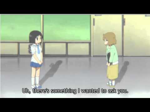 Nichijou Sakurai sensei asks Nano a question