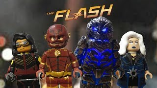 Lego CW Flash Season 3 Future Flash, Savitar, Killer Frost, Vibe Custom Minifigures