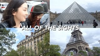 Paris' Main Sights in One Day | Paris Vlog
