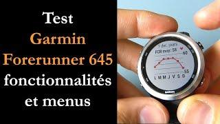Test Forerunner 645