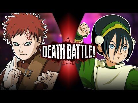 Gaara VS Toph DEATH BATTLE