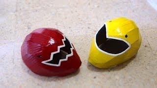 #57: Power Rangers Helmet DIY Part 2 - Visor, Paint & Details | How To | Dali DIY