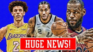 "KAWHI LEONARD TRADE! ""LAKERS HAVE TO TRADE LONZO FOR LEBRON"" NEW SUPERTEAM INCOMING! | NBA NEWS"