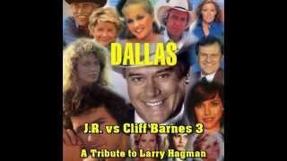Dallas - J.R.  vs Cliff Barnes 3 (Larry Hagman) german