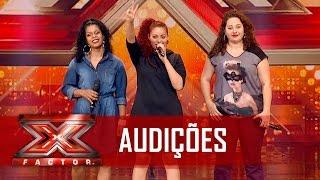 Rap feminino nacional com A's Trinca | X Factor BR