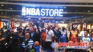 Shopping NBA store Manila, Philippines - Đồ Bóng rổ ở Phi đẹp quá!
