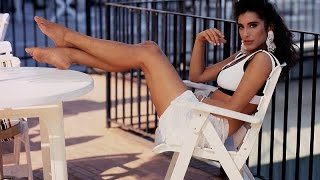 Sabrina Salerno piedi nudi feet barefoot